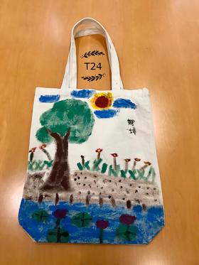 手绘环保袋t24