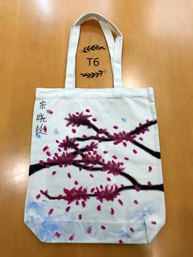 手绘环保袋t6