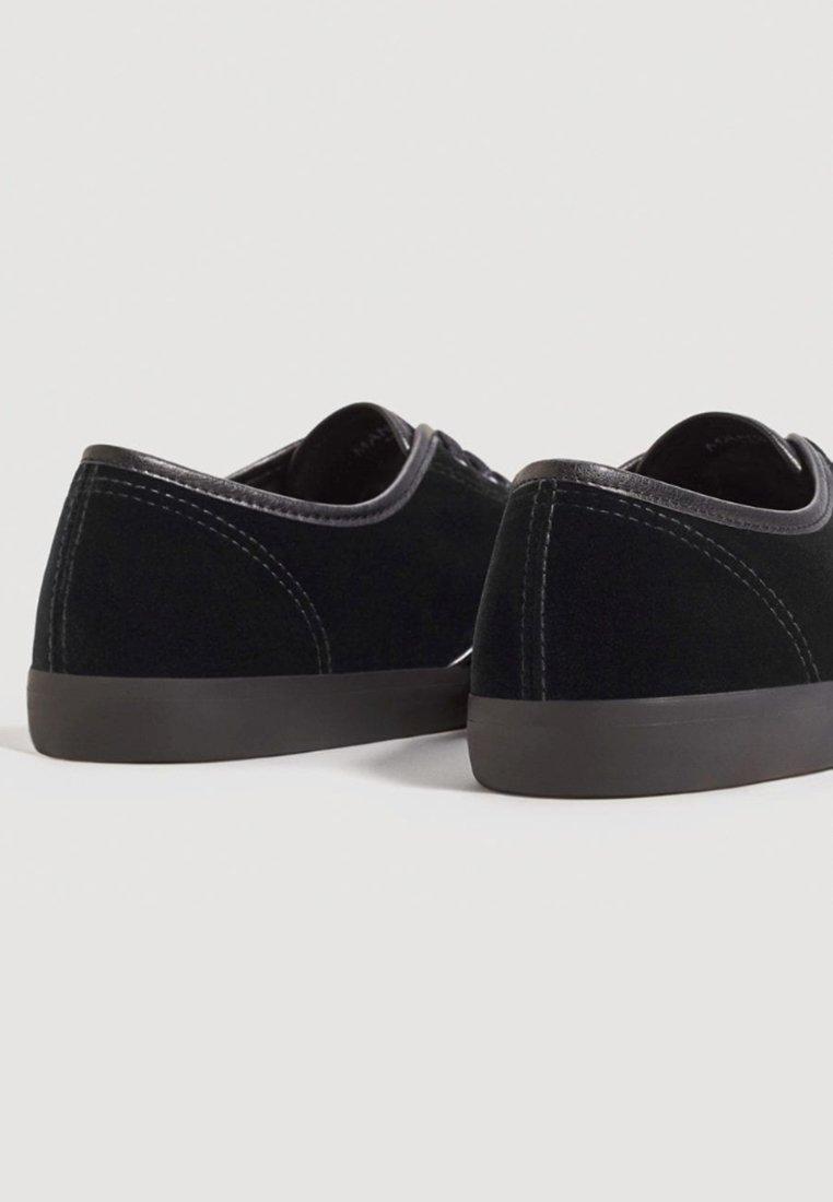 芒果(西班牙快时尚品牌) mango velvet - 系带休闲鞋