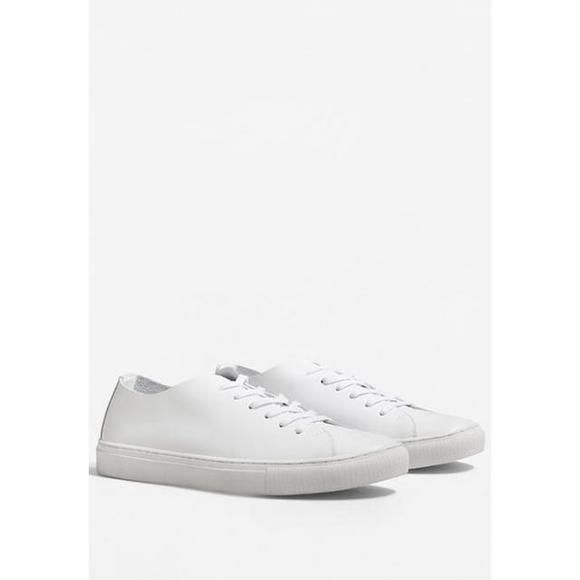 芒果(西班牙快时尚品牌) mango blanca - 男鞋 时尚运动鞋 低帮 - whi
