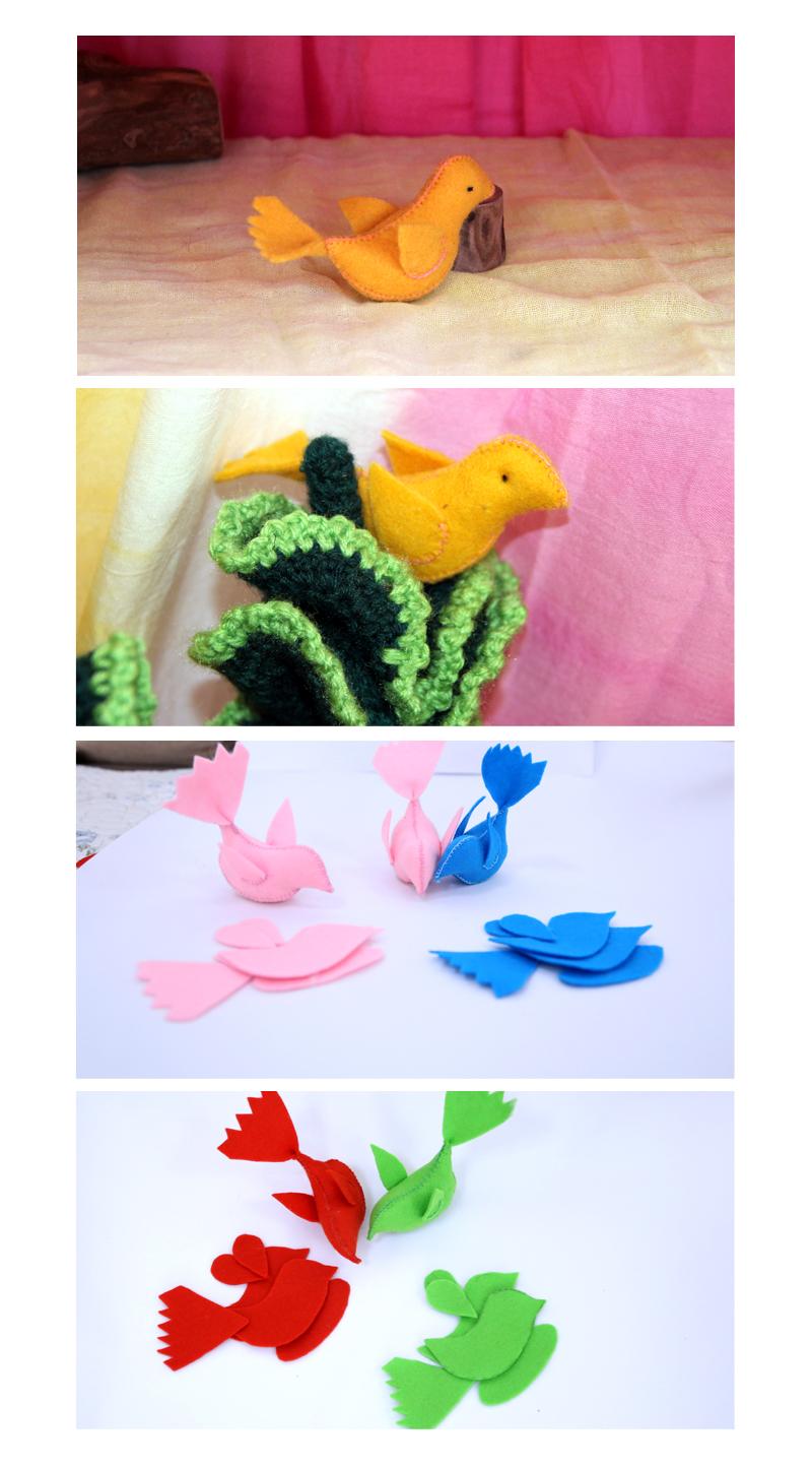 小动物布偶手工制作大全图解