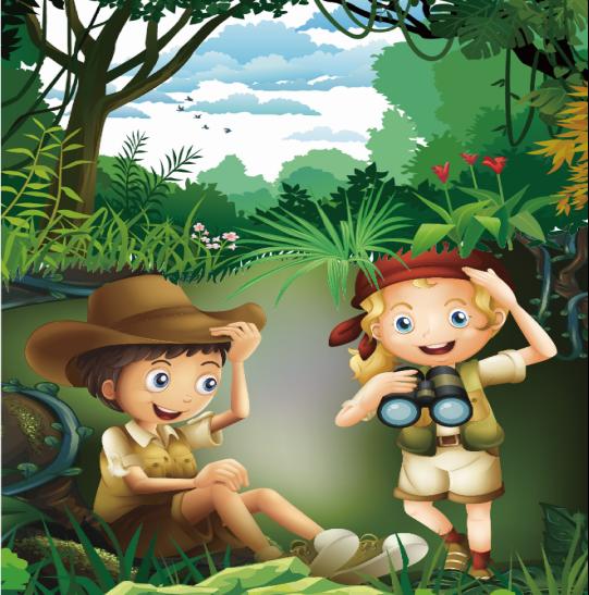 探险家——自然小侦探图片