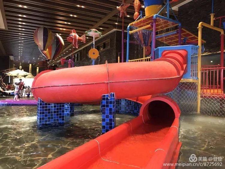 清河半岛度假酒店温泉票,室内外温泉 儿童淘气堡 戏水