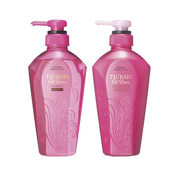 日本资生堂shiseido丝蓓绮tsubaki 洗发水和护发素 两图片