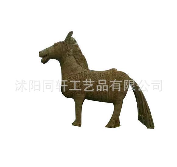 户外稻草工艺编织 民间创意稻草工艺品 稻草编织动物厂家