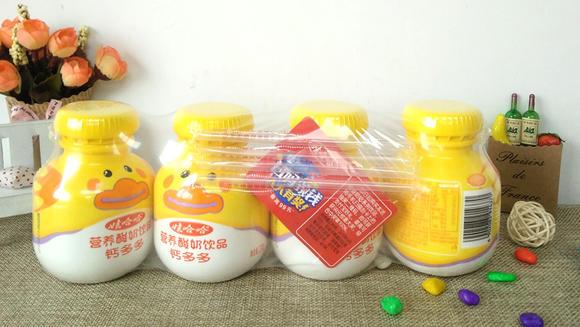 娃哈哈钙多多 营养酸奶200g*24瓶/箱图片