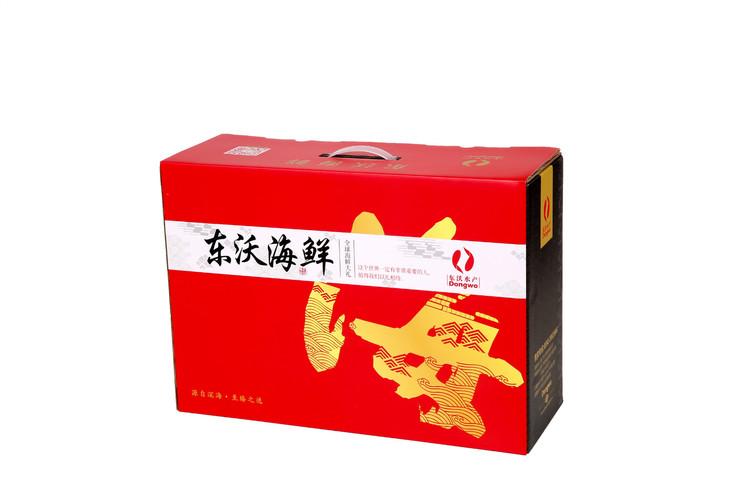 年味海鲜礼盒图片