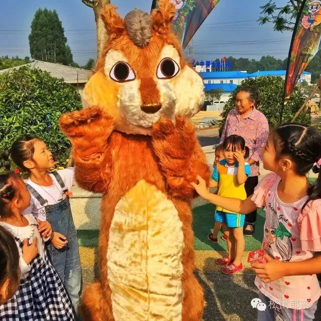 成都松鼠部落森林假日公园通票图片