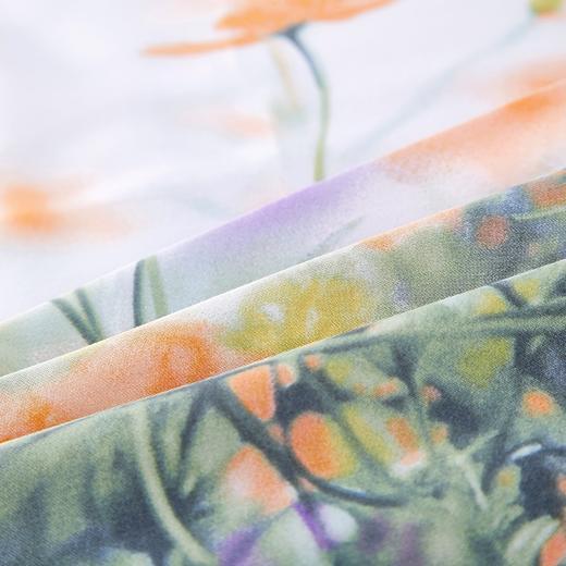 竹语天丝四件套  潋彩花涧 商品图1