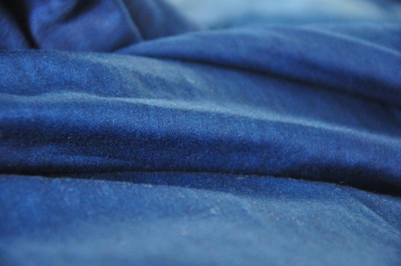 5米纯棉床品面料 植物染色家纺布料草木染布组