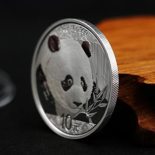 【熊猫币】2018年熊猫30克银币·中国人民银行发行 商品图1