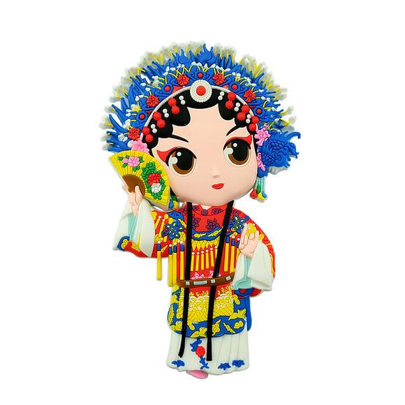 北京礼物 多款式冰箱贴京剧人物卡通磁贴创意小礼品中国风礼品