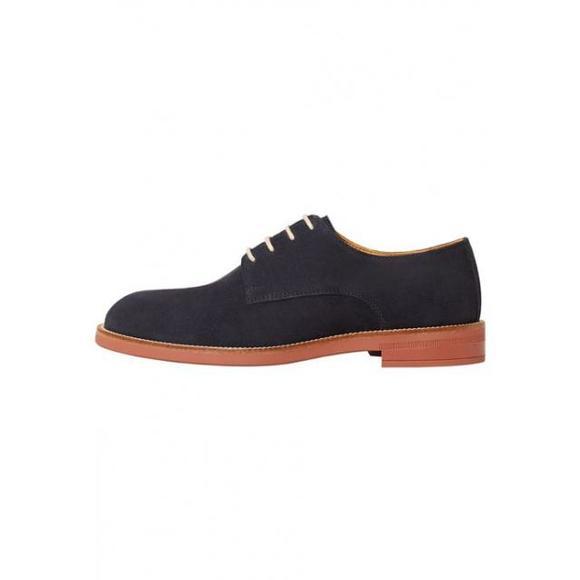 芒果(西班牙快时尚品牌) mango blcher - 男鞋 系带鞋 - bleu marine