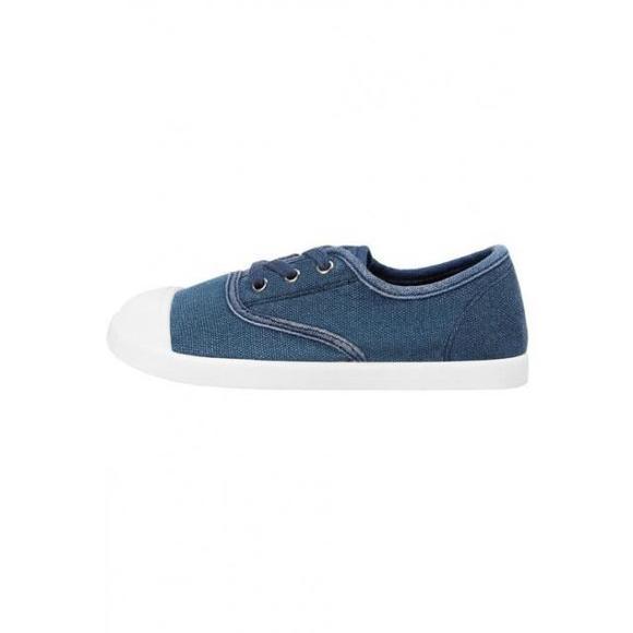 芒果(西班牙快时尚品牌) mango blanca - 女鞋 时尚运动鞋低帮 - blue