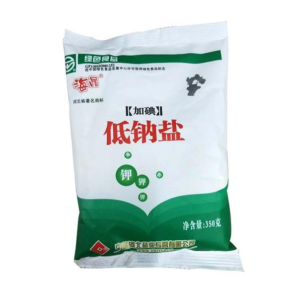海晶350g低钠盐