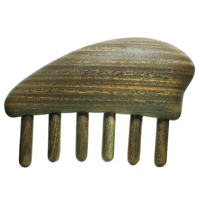 按摩宽齿木梳 商品图2