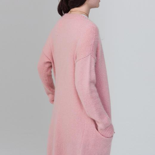 云团织NO.16微暖长袖休闲开衫 diy手工毛线棒针编织材料包 非成品 含图解无视频 商品图4