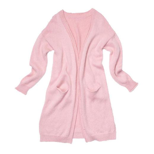 云团织NO.16微暖长袖休闲开衫 diy手工毛线棒针编织材料包 非成品 含图解无视频 商品图5
