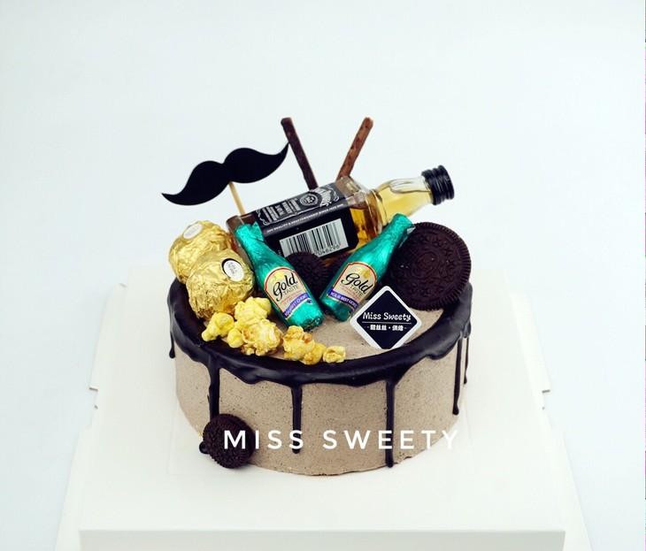 酒瓶专款蛋糕6025图片