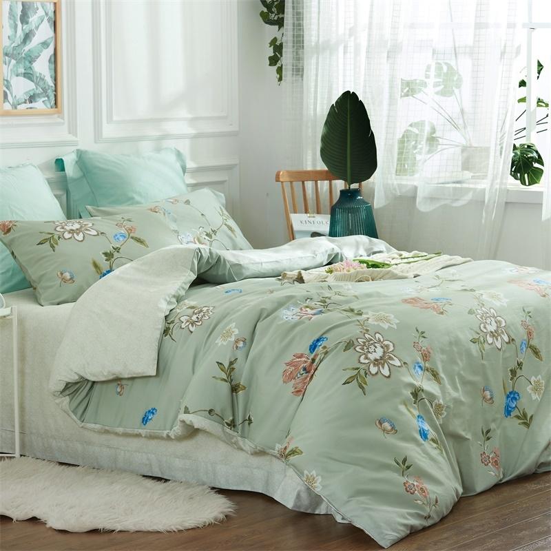 60长绒棉床单四件套-春柔 商品图1