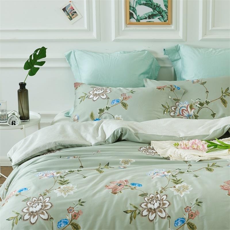 60长绒棉床单四件套-春柔 商品图2