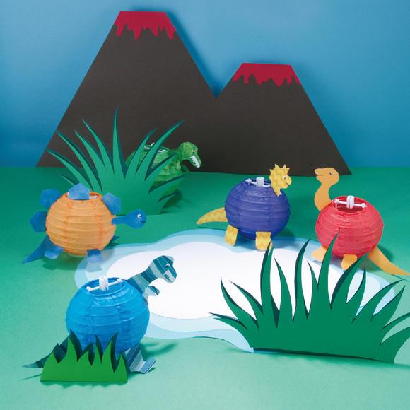 创想号公主派对疯狂灯笼动物园手工制作儿童礼物艺术养成套装