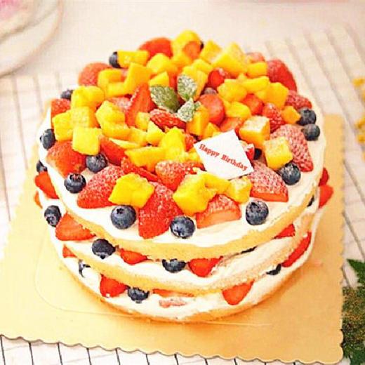新年新气象 | 用这款鲜果蛋糕为自己新一年加油! 商品图0