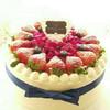 蜂迷蝶恋 | 草莓鲜果蛋糕 商品缩略图0