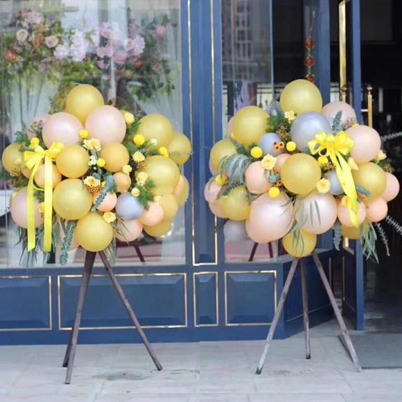 三脚架创意开业气球花篮-送朋友开张开业乔迁明星演唱