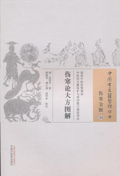 原书分上下二卷.上卷图解《伤寒论》方23首,绘图23幅,附舌苔图6幅.