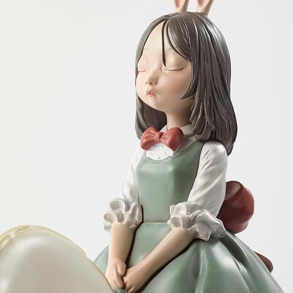贾晓鸥限量版雕塑 白夜童话系列《梦马》