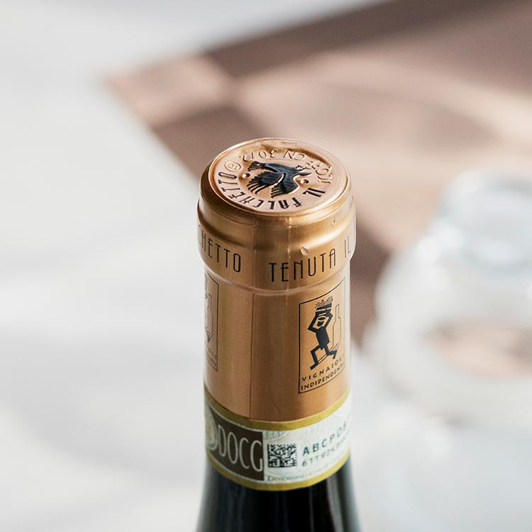 [起泡酒必尝 大红虾 满级评价]意大利 Asti名家 小鹰甜白起泡酒 2018年份 商品图2