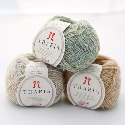 Hamanaka日本进口毛线Tharir手工编织马海毛羊毛混纺毛线 商品图1