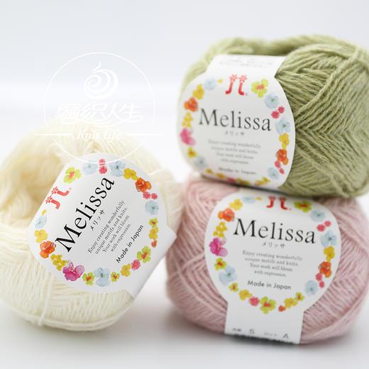 Hamanaka日本进口毛线Melissa手工编织马海毛羊毛混纺毛线 商品图0