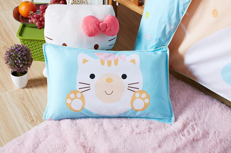 纯棉面料幼儿园卡通宝宝午睡枕芯 商品图0