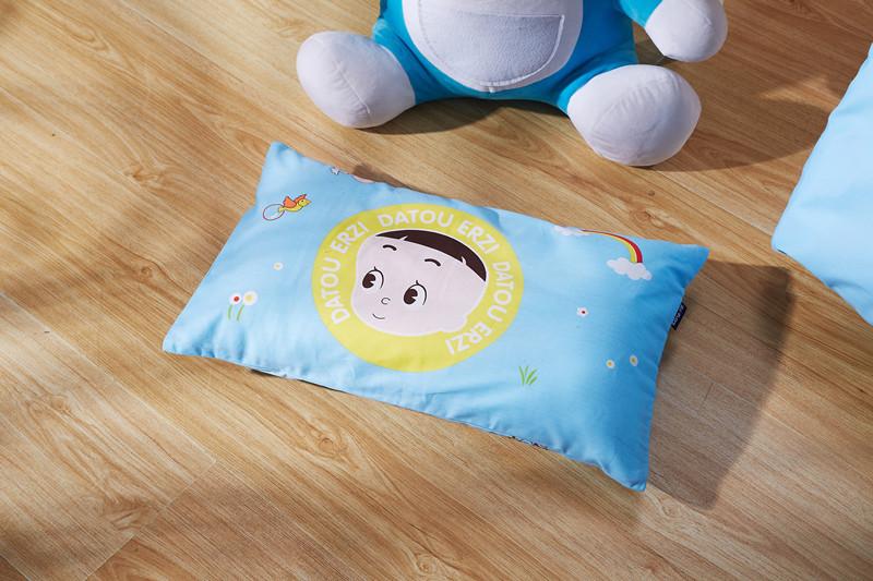纯棉面料幼儿园卡通宝宝午睡枕芯 商品图5