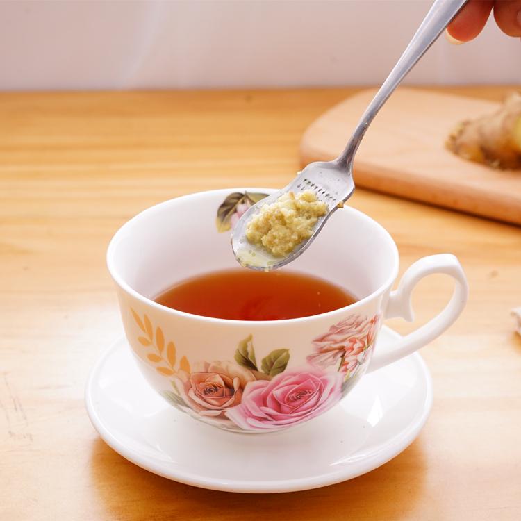 生姜姜茶勺不锈钢磨姜器研磨姜泥姜汁姜蓉厨房小工具婴儿辅食磨泥 商品图2