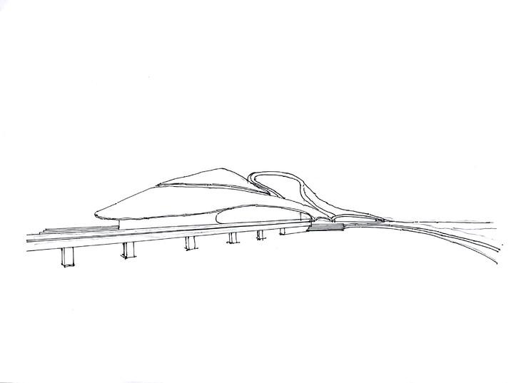 哈尔滨大剧院建筑手绘临摹图带步骤马克广州手绘培训