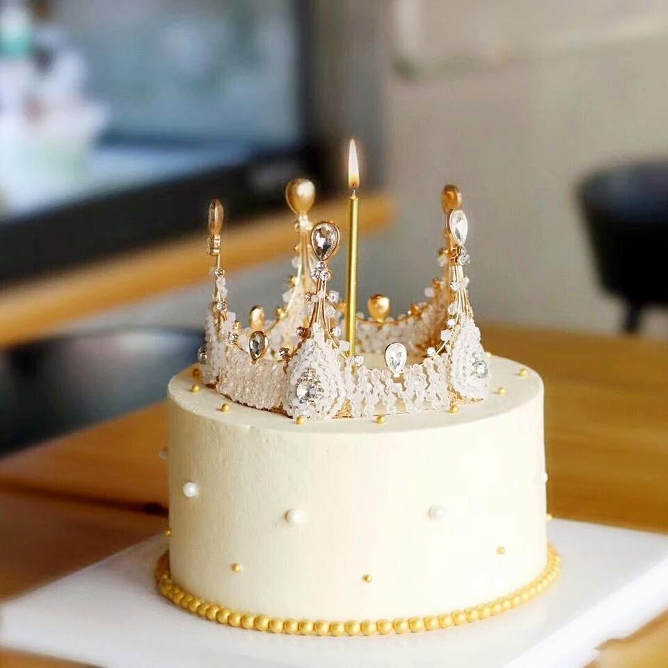 特价蛋糕装饰 欧式皇冠 大号女王皇冠 蛋糕摆件热销款