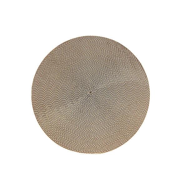 自然优选 猫抓板替换装 直径330mm圆形大面积 保护