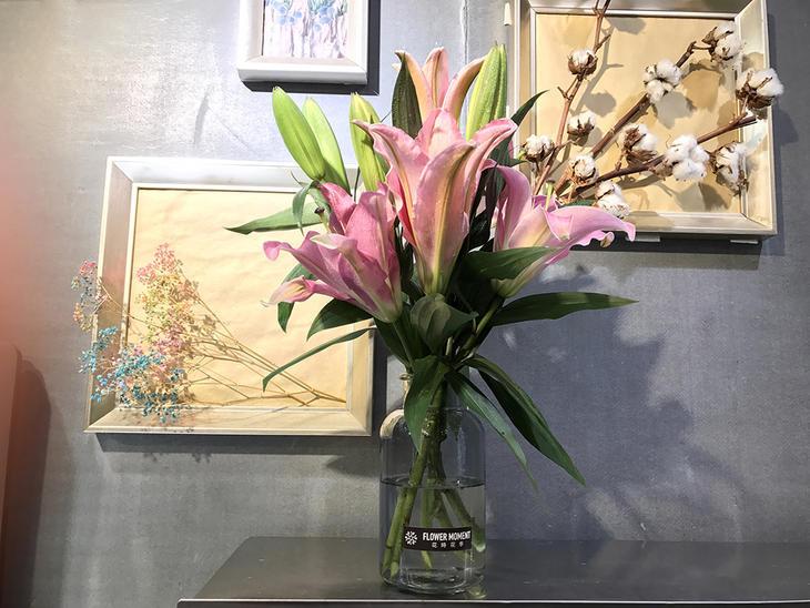 粉花瓶超值百合指数29.9元,仅需15元超值加购双子座和团购座财运射手图片