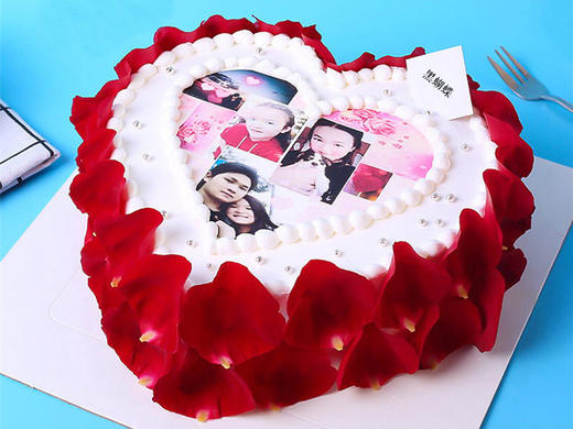 RoseLove|蛋糕上面的图案需要来图订做 商品图0