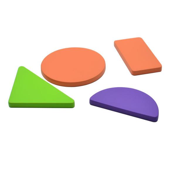 正方形,长方形,圆形,半圆形,三角形的百变卡