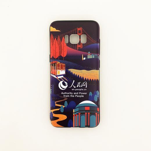 【同型号买一赠一】人民网 三星Galaxy S8/S8P/S9/S9P/Note 8 陪你看世界 环保彩绘手机壳 全包边保护套 12款 商品图7