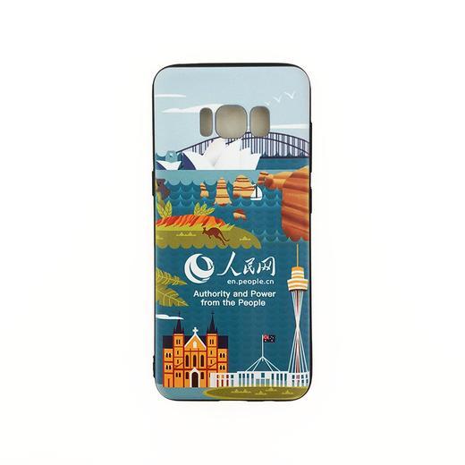 【同型号买一赠一】人民网 三星Galaxy S8/S8P/S9/S9P/Note 8 陪你看世界 环保彩绘手机壳 全包边保护套 12款 商品图1