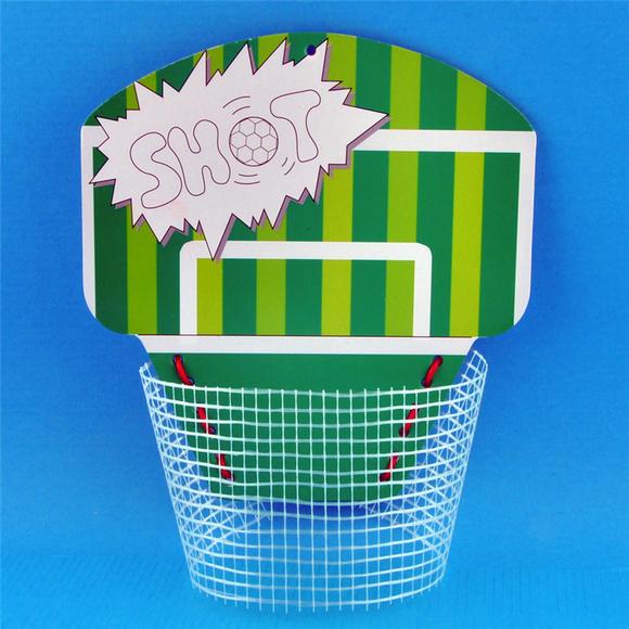 幼儿园课堂手工diy创意手工,篮球与足球材料包