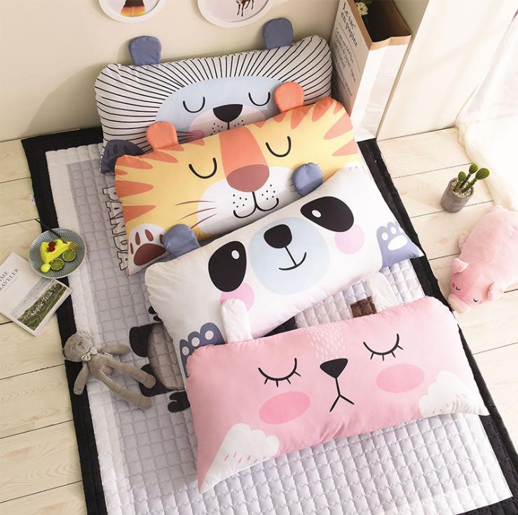 儿童床靠垫卡通动物大靠枕床上床头软包韩国居家用品大靠背 商品图0