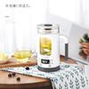 生活元素-I13个人养生壶 全自动加厚玻璃多功能玻璃煮花茶杯煮茶器电热烧水壶600ml 商品缩略图8