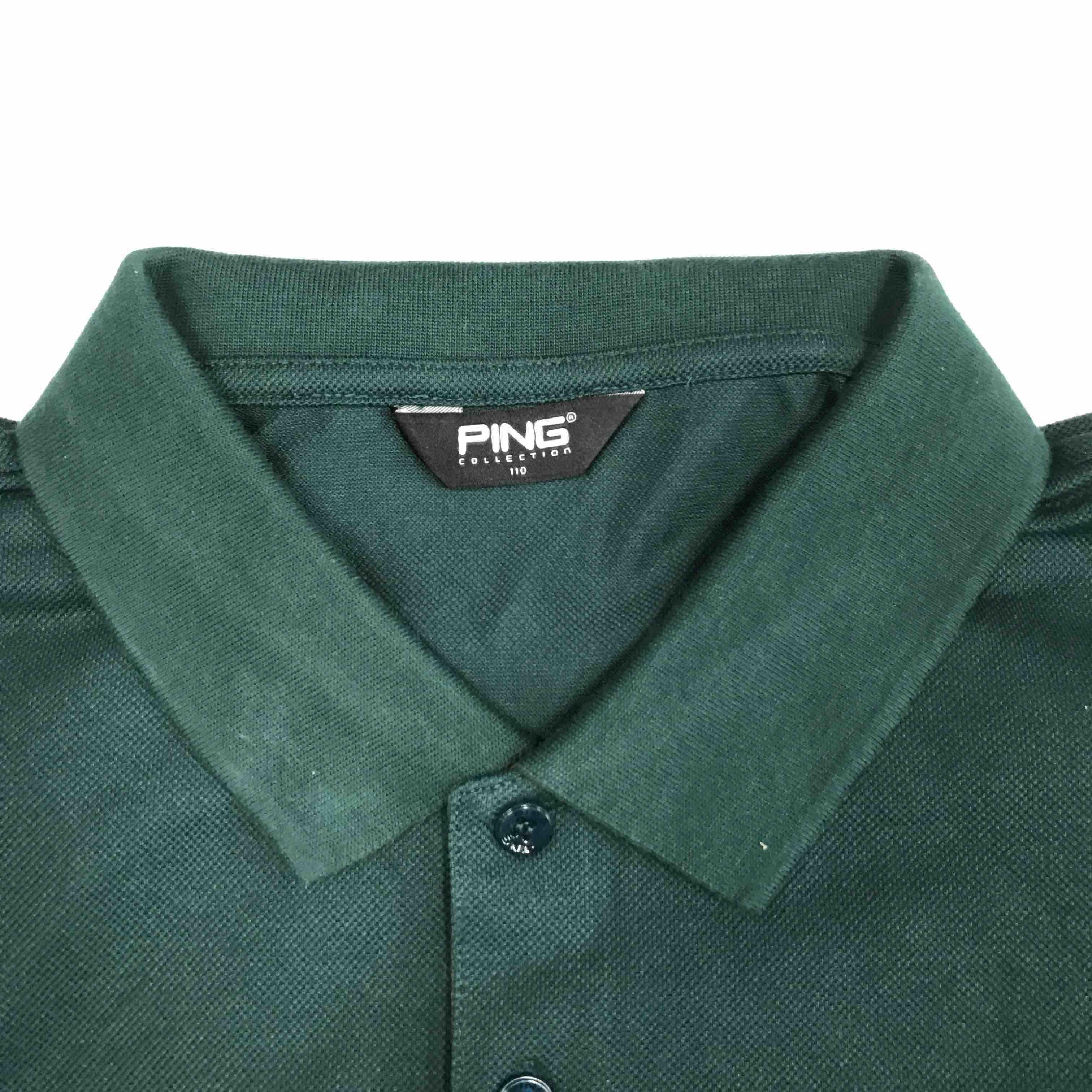 199ping 高尔夫服装 秋冬纯色长袖 高尔夫男装 翻领长袖t恤 golf 六款