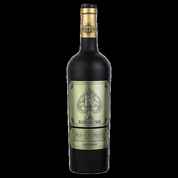 黑桃k干红葡萄酒